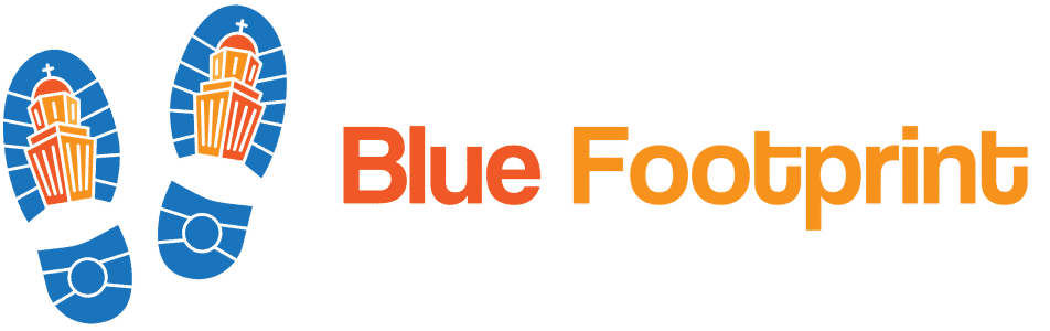 Blue Footprint